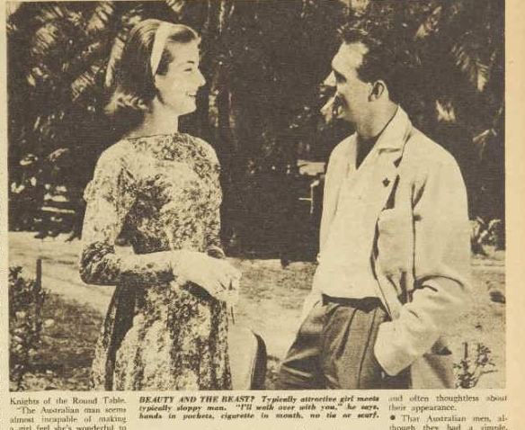 AWW 4 Dec 1957 what's wrong with AUssie men