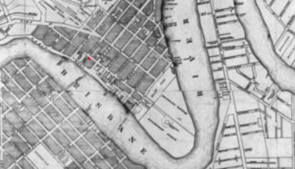 Brisbane map 1878 extract