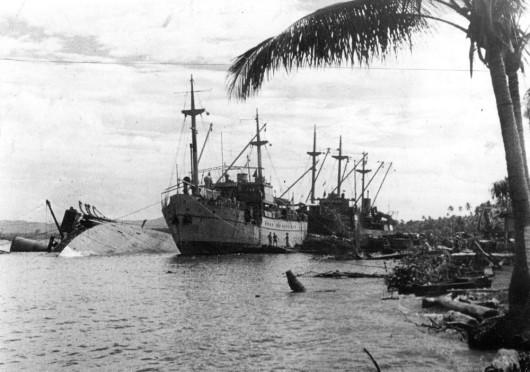 Milne Bay ships war
