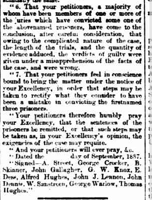 MELVIN Oct 8 1887 p8 extract The Week