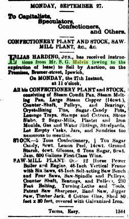 MELVIN Qld Times 23 Sept 1886 p8