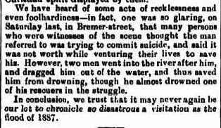 Qld Times 25 Jan 1887 p5 MELVIN