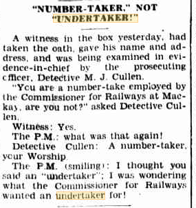 Numbertaker Railway Daily Mercury 8 May 1935 p8