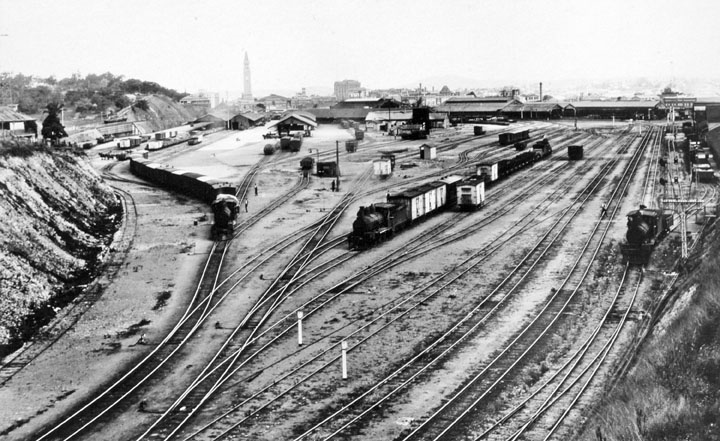 Roma St Good s yard 1935