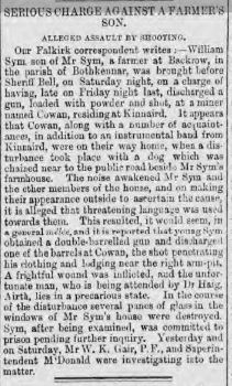 SIM William Glasgow Herald 16 July 1872 p4