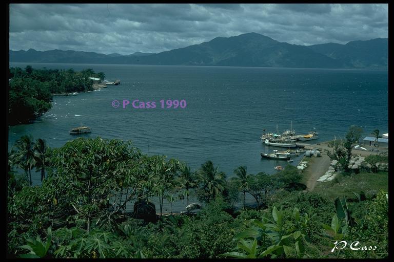 Alotau, Milne Bay wharf