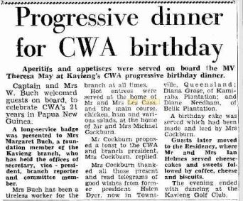 CASS Les and Kaye PNG Post Courier 19 Sept 1972 p17