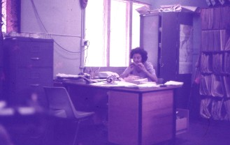 Judy Holland in the Educ Subsidies Office not paperless 1975