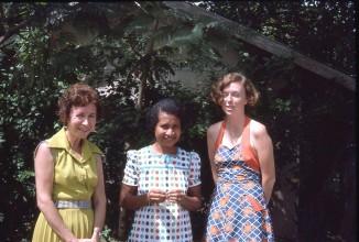 Judy Holland Lekei dunno and Pauleen Education Subsidies team POM 1975