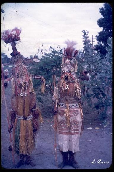 Orokaiva ceremonial dress