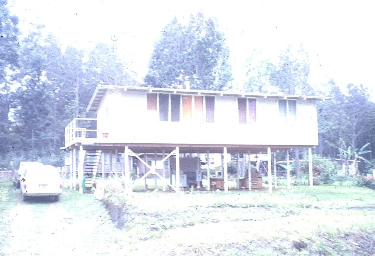 Our house at Nth Goroka 1971