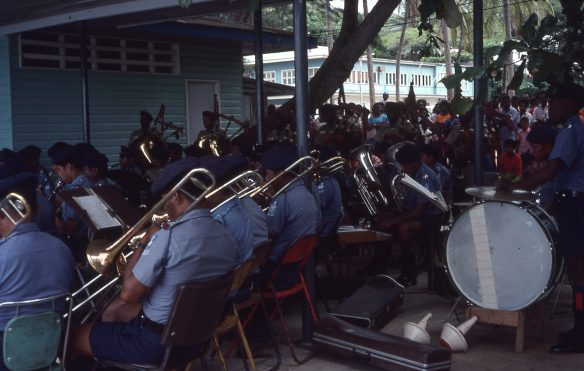 Police Band Ela Beach
