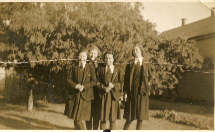 63 prob Kaye Edwards 3rd fm Left 1940s