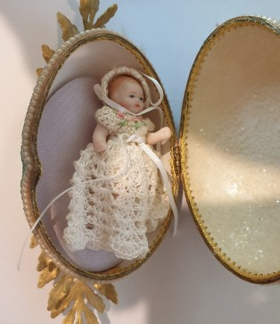 Aunty Mary's tiny doll