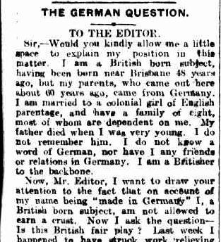 German Hard Hit Bris Courier 7 Mar 1916