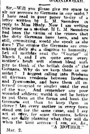 Germans Bris Courier 7 Mar 1916 p9