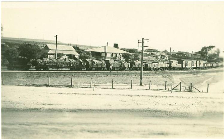 Hughenden railway yards