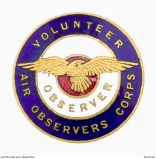 VOAC badge