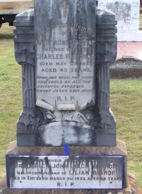 BISHOP Jack grave (2)