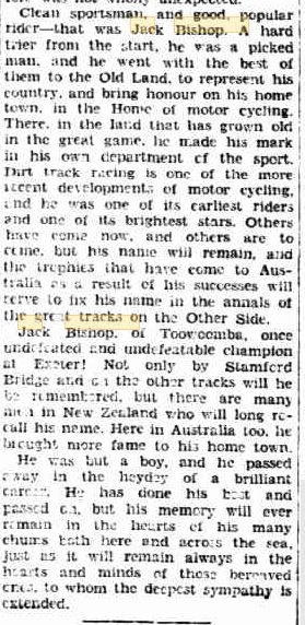 BISHOP Jack obit 24 Mar 1933 p10 part 2