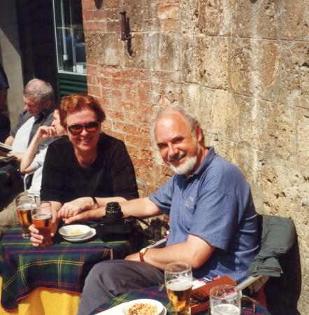 Pauleen and Peter Siena