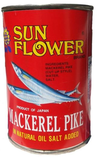 mackerel pike tin