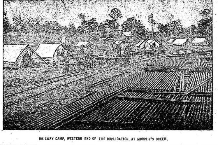 Murphys Creek railway camp The Week Qld