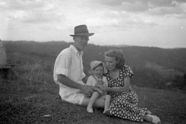 Norman Pauleen and Joan at Smiths Farm