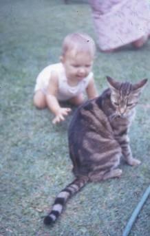 Puskat Louisa and Sooty Brisbane 1971