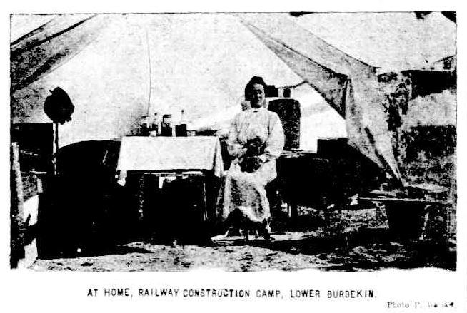 Railway Camp The Week 21 nov 1913