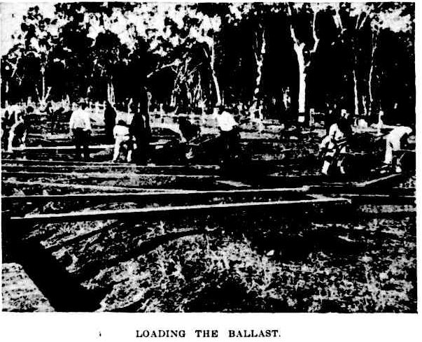 Railway loading ballast Qlder 4 Feb 1899 p214