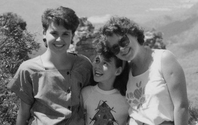 three sisters up close