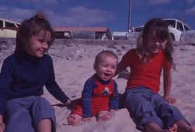 Louisa Bec and Rach 1979