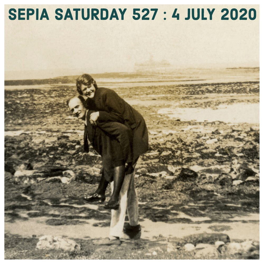 Sepia Saturday 527 - 4 July 2020