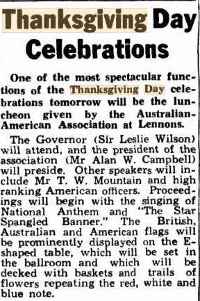 Telegraph 25 Nov 1942 p5 Thanksgiving